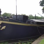 One of the barges