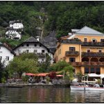 Gasthof Simony as seen from the lake.