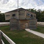 Inside Fort Holmes