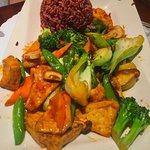 vegetable curry/stir