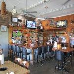 Indoor bar area.