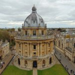 Radcliffe camera view from Church tower
