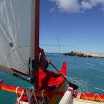 Sailing adventure.