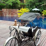 Cyclo by the pool area