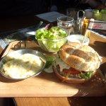 Hamburger/truffade