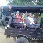 With Pradeep at the end of an unbelievable safari drive!