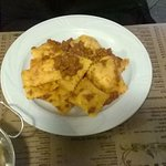 Tortelli zucca e patate con ragù