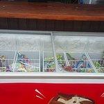 Ice Cream in beach area