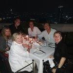 friends enjoying dinner