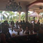 Rising Sun Villa dining area