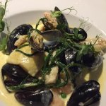 Hake with Mussels