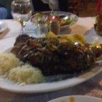 Excellent sharing platter of lamb