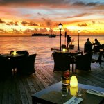 Sunrise and Sunset times at Bora Bora Yacht Club...