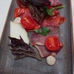 tabla de salami
