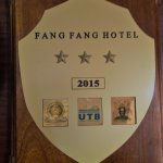 Fang Fang Hotel was promoted to a three star international hotel in Uganda