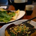 Fried Egg Spinach Tofu
