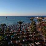 Paradisos Beach near the hotel