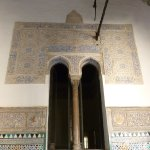typical moorish tiling and window arches