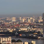 View from Executive Club (Wat Pho and Grand Palace)