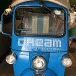 Hotel Tuk Tuk that will take you to the shopping centre