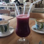 beet + juice....delish