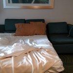 Combo sofa/bed seating arrangement