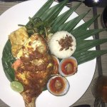 Grilled Whole Baby Red Snapper