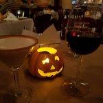 pumpkin martini and merlot