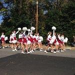 Alabama Cheerleaders at Homecoming Parade