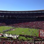 Beautiful Fall Day at Bryant=Denny