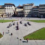 View from the room of Santa Maria Novella Square