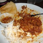 Tasty Lamb Curry (should have taken an earlier photo!)