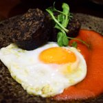 One of our Tapas dishes - Spanish Black Pudding