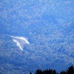view of road below