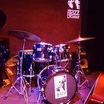 The Jazz Corner stage.