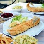 Dosz tradycyjny w Niechorzu! Smażalnia ryb Kergulena