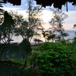 View fro our bungalow