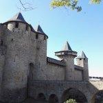 Les remparts de la cité de Carcassonne