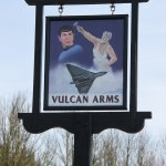 Pub sign designed by the landlord and winner of Pub Sign of the Year