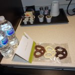 Complementary amenity for Hilton Honors members