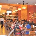 Um ambiente agradável e familiar com o melhor da comida mineira e italiana! ;)