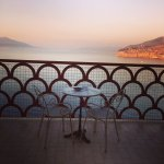 Hotel Minerva Sorrento - View from our balcony!