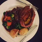Succulent Roast Beef Sunday Lunch with All The Trimmings