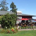 Hotel grounds and Ocean 7 Restaurant