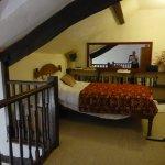 the mezzanine floor single bedroom