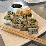 Custom vegan sushi, totally delicious!