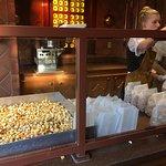House made Caramel Popcorn - Karamell Kuche