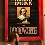 Sign for Duke of Duckworth