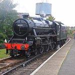 Watercress Line steam loco at Alton