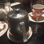 Could not believe we were served Tea in this teapot which had a broken lid !!!!!